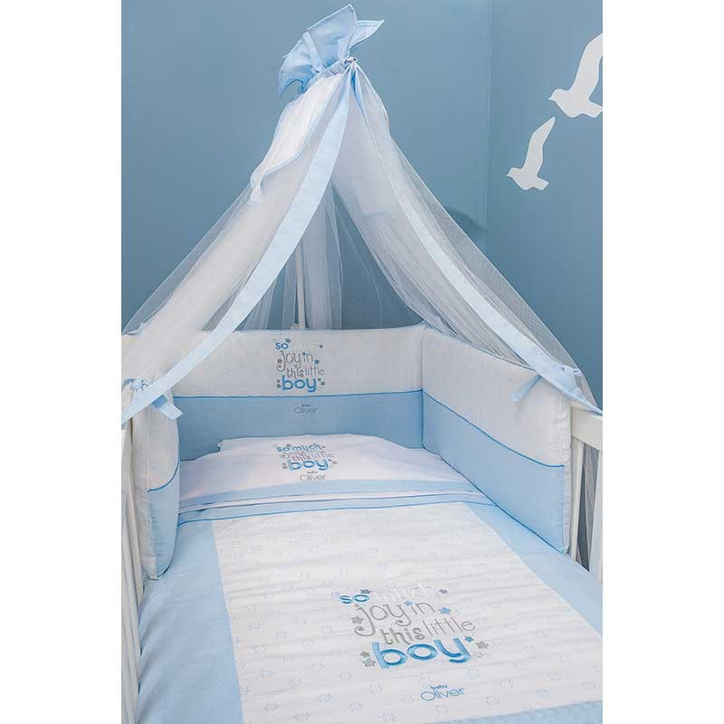 f5f9751f7f4 Σειρά Προίκας Μωρού Baby Oliver Little Blue Joy Design 303