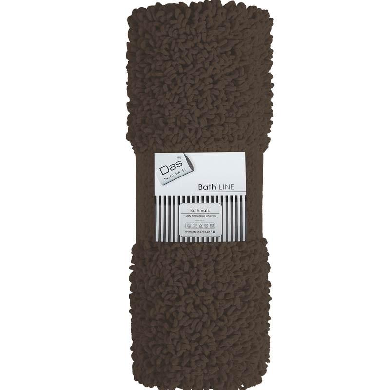 Πατάκι Μπάνιου (50x70) Das Home Bathmats Microfibre Cenille 472