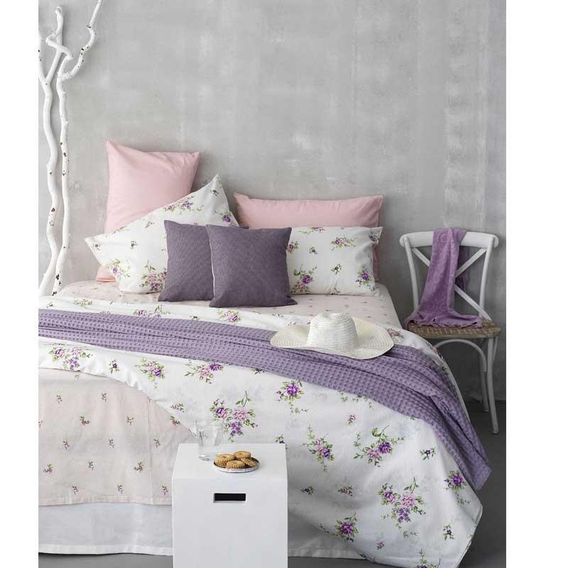 Σετ Σεντόνια Υπέρδιπλα (Flat) Palamaiki Home Fashion Life FL6059 5205857188849
