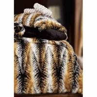 Σετ Κουβέρτα Γούνινη Οικολογική Υπέρδιπλη Palamaiki Ducale Fur 8505