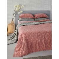 Κουβέρτα Υπέρδιπλη Palamaiki HOME Abigail Brick 5205857192907