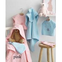 Σετ Λουτρού Βρεφικό (3τμχ) Palamaiki Baby Joia Collection BJ356 Pink