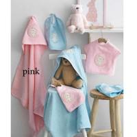 Σετ Λουτρού Βρεφικό (3τμχ) Palamaiki Baby Joia Collection BJ465 Pink