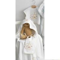 Σετ Λουτρού Βρεφικό (3τμχ) Palamaiki Baby Joia Collection BJ486 Beige