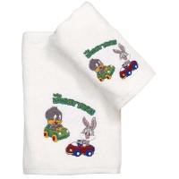 Σετ Πετσέτες Παιδικές 2τμχ Viopros Σχ. Baby Looney Tunes 20 02901525020
