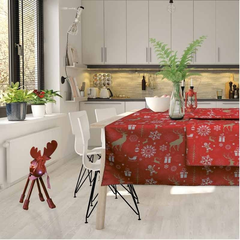 Χριστουγεννιάτικο Runner (50x140) Das Home Cristmas Collection Code 0549