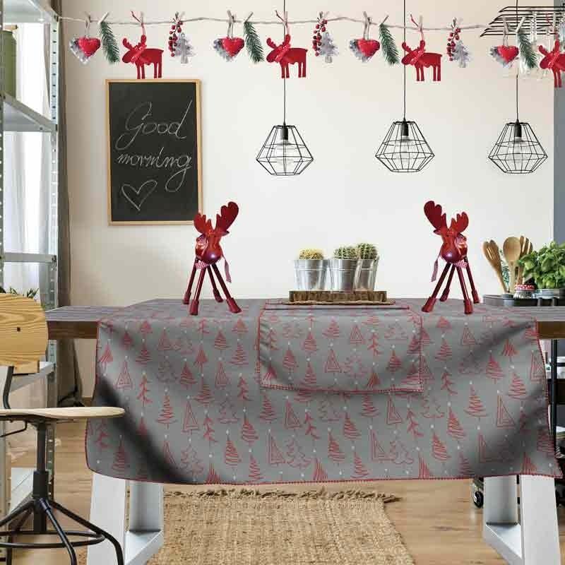 Χριστουγεννιάτικο Τραπεζομάντηλο (140x240) Das Home Cristmas Collection Code 0551