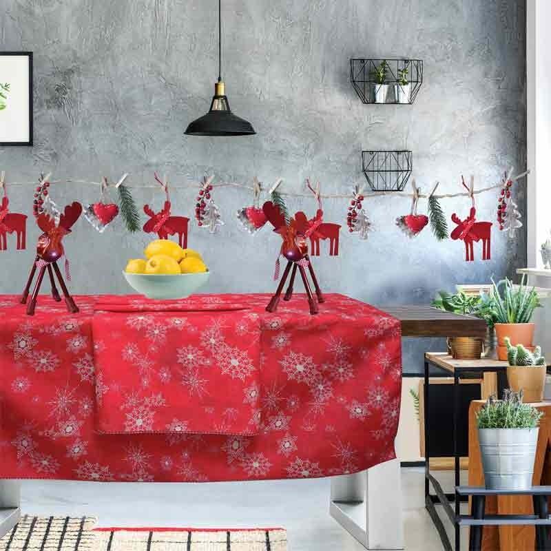 Χριστουγεννιάτικο Τραπεζομάντηλο (140x240) Das Home Cristmas Collection Code 0553
