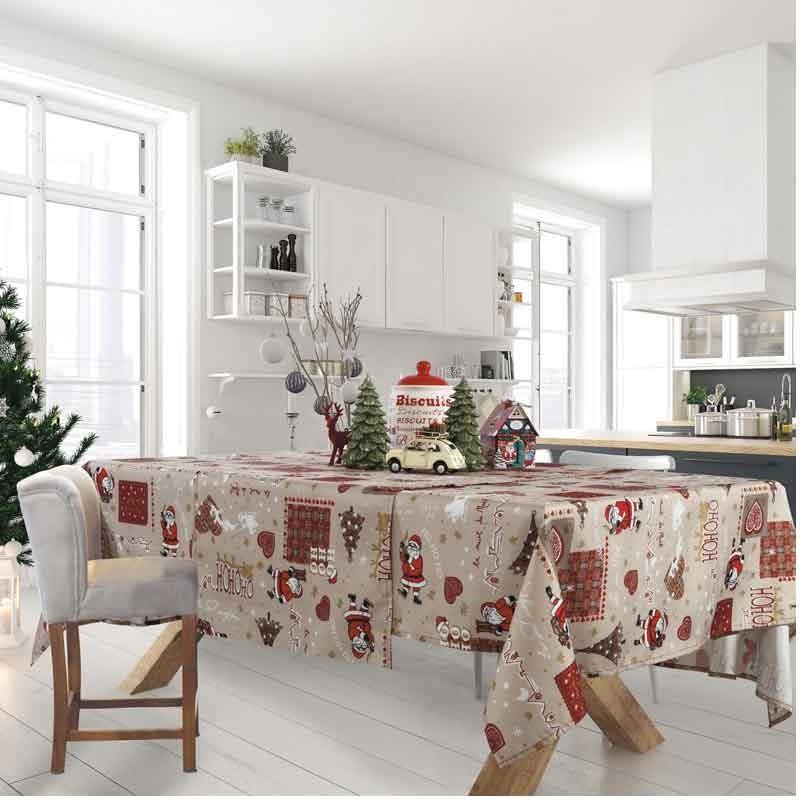 Χριστουγεννιάτικο Τραπεζομάντηλο (140x220) Das Home Cristmas Collection Code 0570