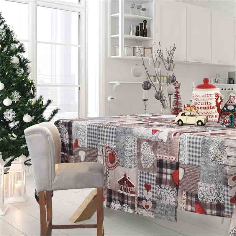 Χριστουγεννιάτικο Runner (50x140) Das Home Cristmas Collection Code 0571