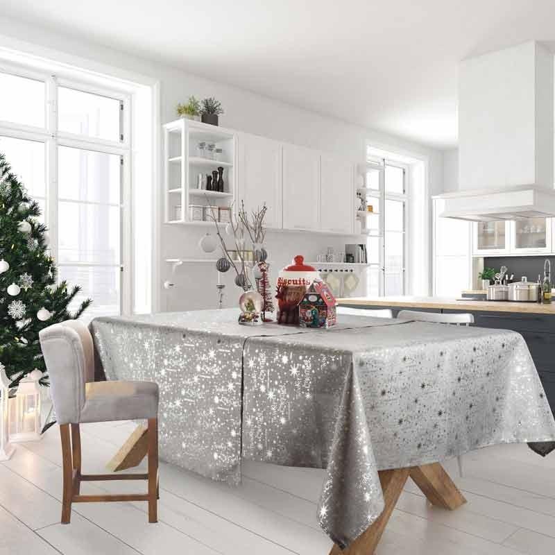 Χριστουγεννιάτικο Τραπεζομάντηλο (140x220) Das Home Cristmas Collection Code 0573