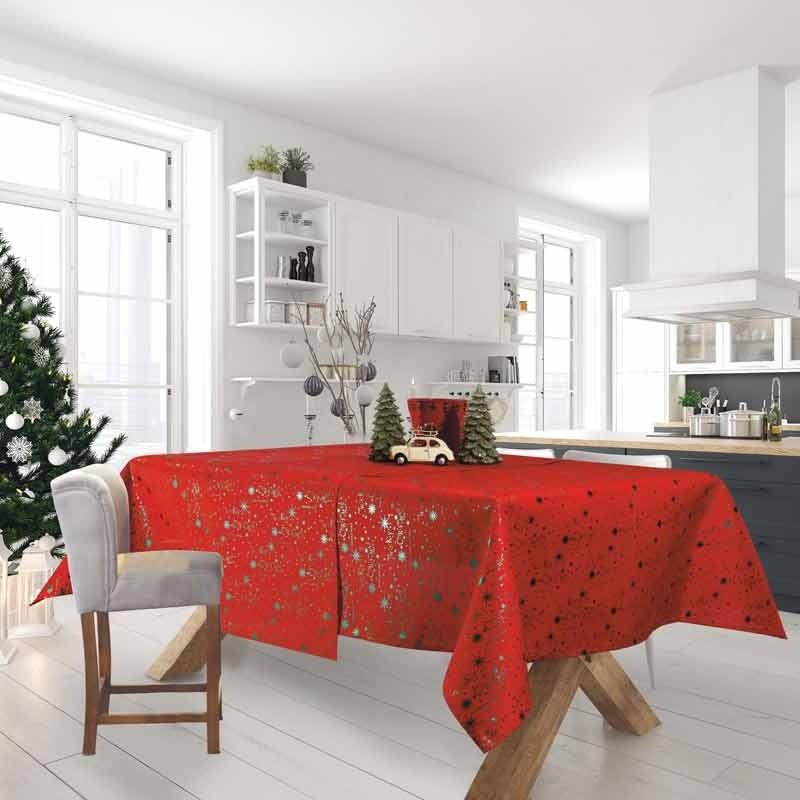 Χριστουγεννιάτικο Τραπεζομάντηλο (140x220) Das Home Cristmas Collection Code 0574