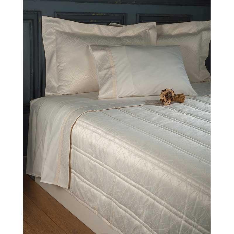 Νυφικό Σετ 7 τμχ Κουβερλι και Σεντόνια (Βαλίτσα) Omega Home Design 101