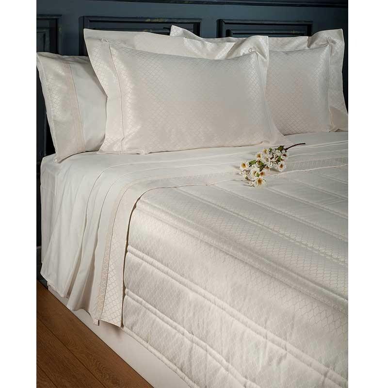 Νυφικό Σετ 7 τμχ Κουβερλι και Σεντόνια (Βαλίτσα) Omega Home Design 103