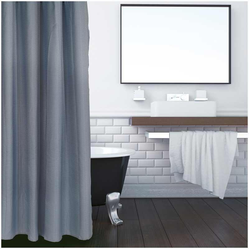 Κουρτίνα Μπάνιου (180x200) Das Home Bath Bath Curtains Colours 1081