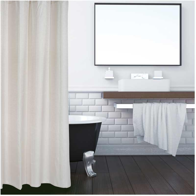 Κουρτίνα Μπάνιου (180x200) Das Home Bath Bath Curtains Colours 1082