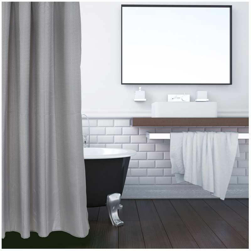 Κουρτίνα Μπάνιου (180x200) Das Home Bath Bath Curtains Colours 1084