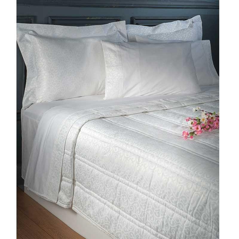 Νυφικό Σετ 7 τμχ Κουβερλι και Σεντόνια (Βαλίτσα) Omega Home Design 112