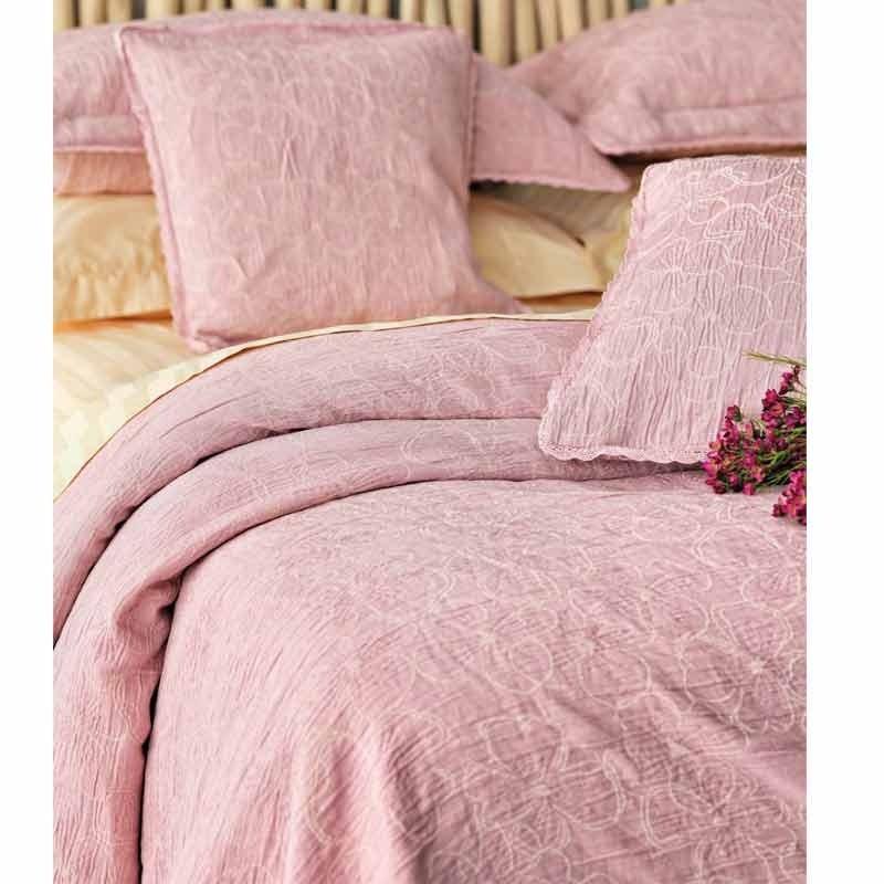 Κουβέρτα Ημίδιπλη Palamaiki Daily Blankets 1162 Light Pink