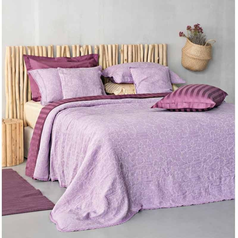 Κουβέρτα Υπέρδιπλη Palamaiki Daily Blankets 1162 Purple