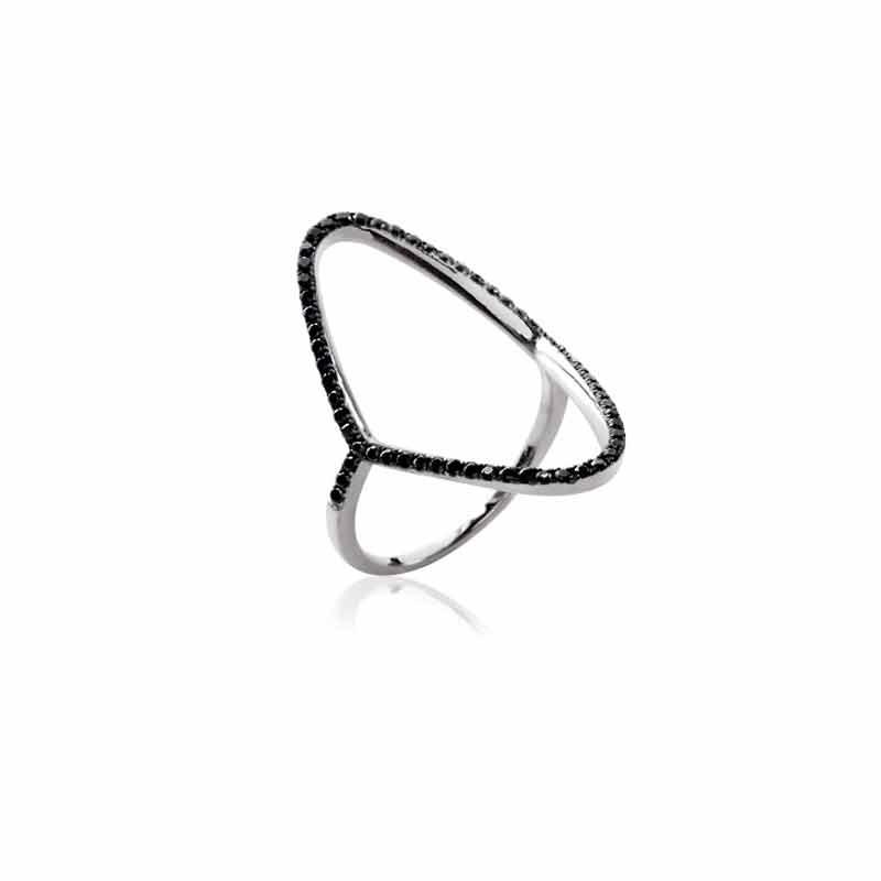 Δαχτυλίδι Ασημένιο  Oxford Street 121750