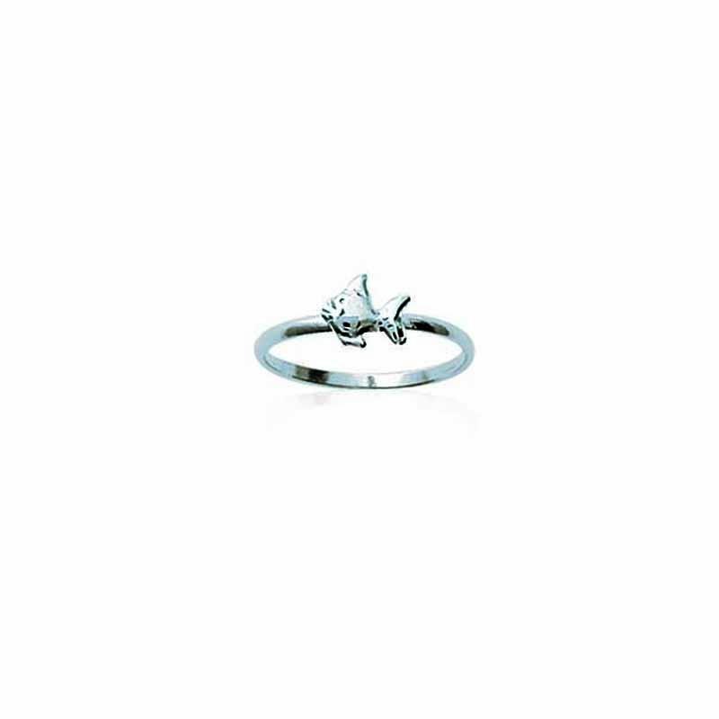 Δαχτυλίδι Ασημένιο 925 Βρεφικό Παιδικό Ψαράκι os143154
