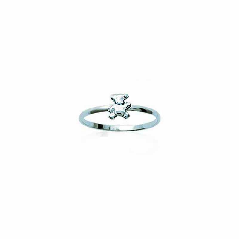 Δαχτυλίδι Ασημένιο 92 Βρεφικό Παιδικό Αρκουδάκι Oxford Street 14315