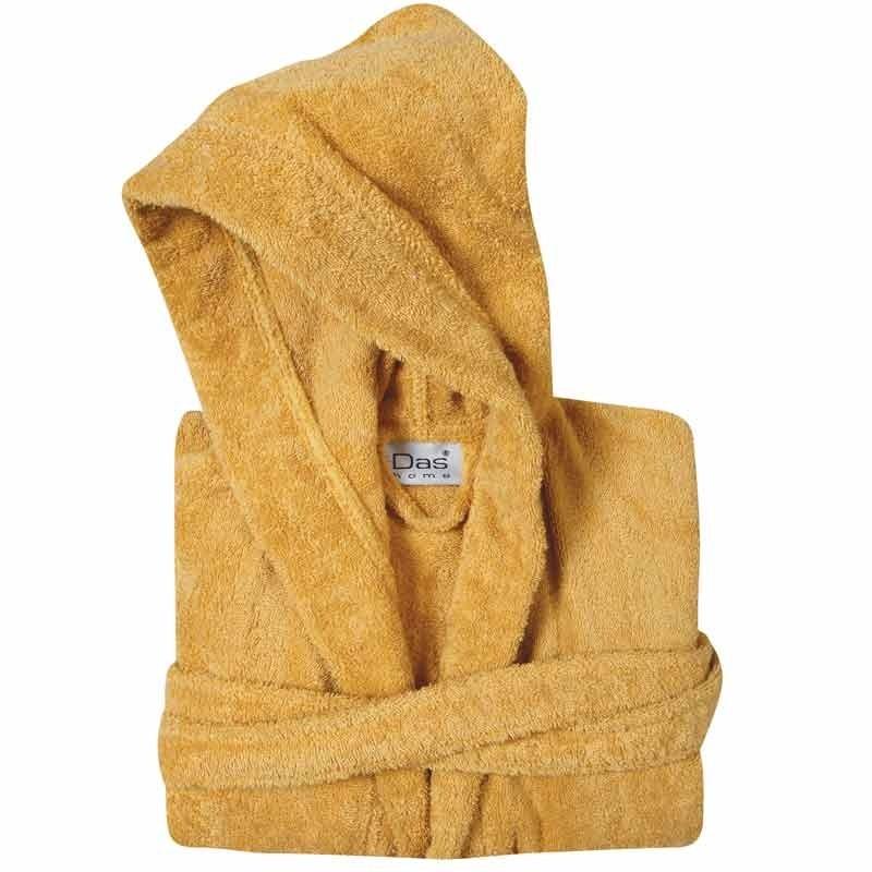 Μπουρνούζι με κουκούλα (Νο4/XL) Das Home Casual Bathrobes Colours 1447