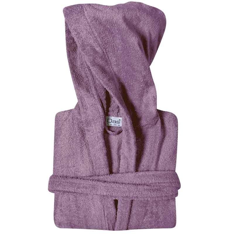 Μπουρνούζι με κουκούλα (Νο4/XL) Das Home Casual Bathrobes Colours 1451