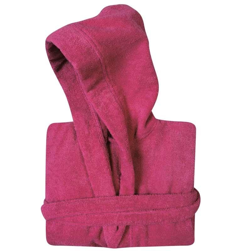 Μπουρνούζι με κουκούλα (Νο4/XL) Das Home Casual Bathrobes Colours 1452
