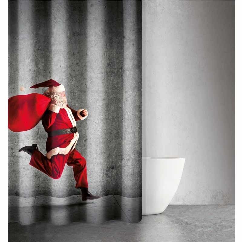 Χριστουγεννιάτικη Κουρτίνα Μπάνιου Saint Clair Paris Des 406 1728030217039