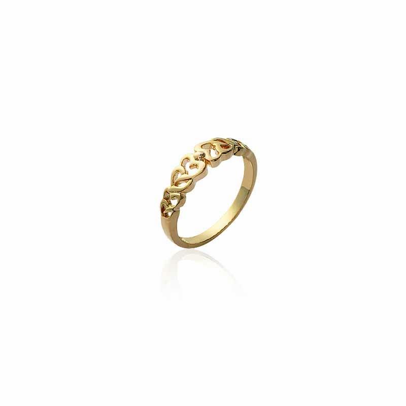 Δαχτυλίδι Brass Επίχρυσο 18Κ os205990