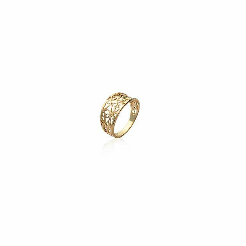 Δαχτυλίδι Brass Επίχρυσο 18Κ Oxford Street 2081401