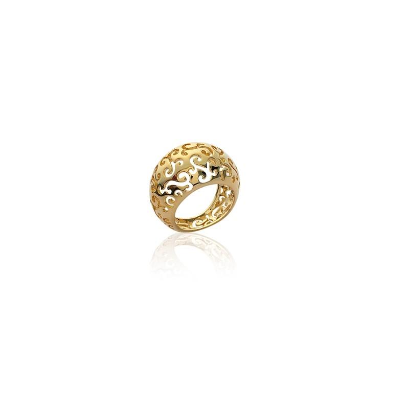 Δαχτυλίδι Brass Επίχρυσο 18Κ Oxford Street 2118900