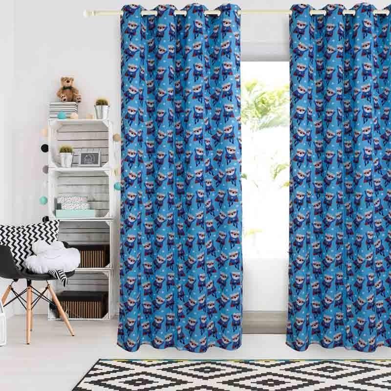 Κουρτίνα Παιδική με κρίκους (140x260) Das Home Curtain Line Prints 2138