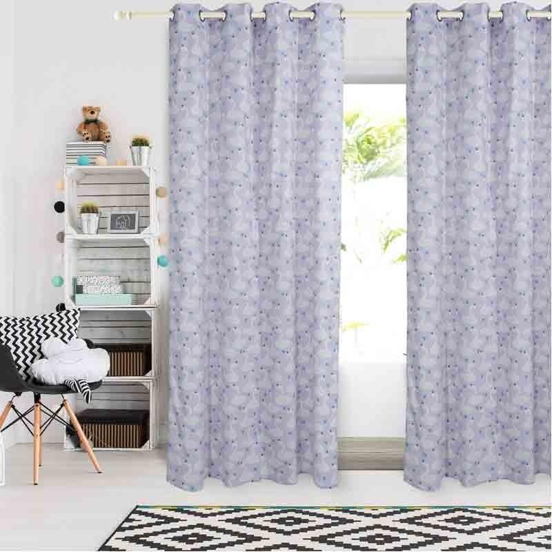 Κουρτίνα Παιδική με κρίκους (140x260) Das Home Curtain Line Prints 2141