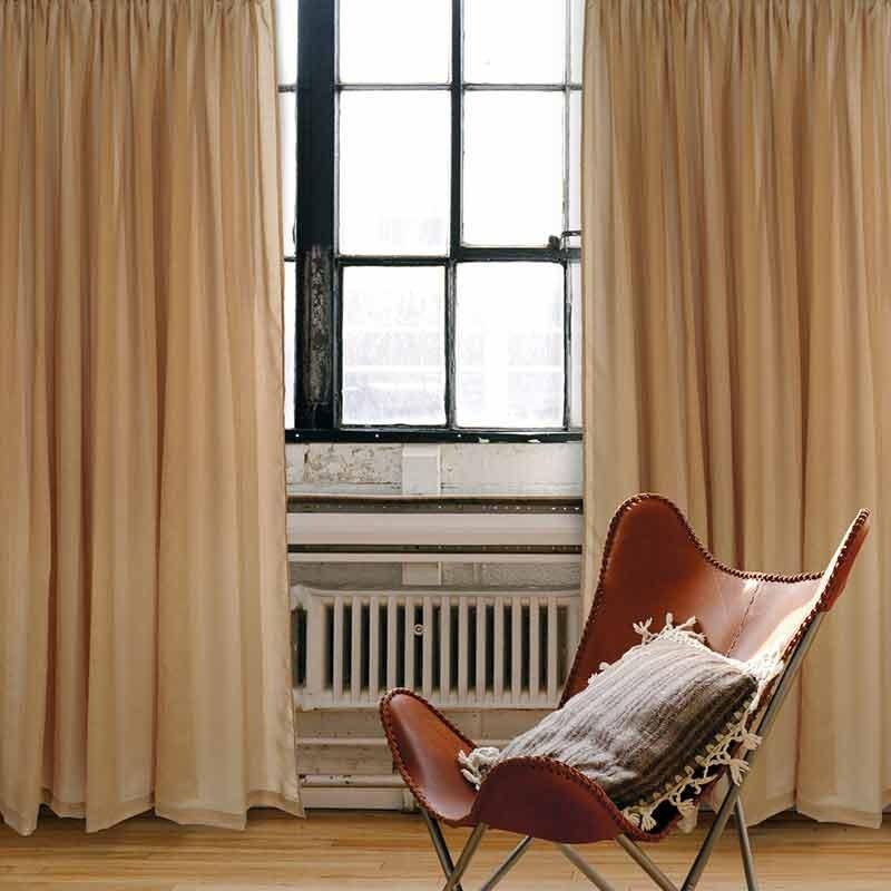 Κουρτίνα με Τρέσα (300x270) Das Home Curtain Line Code 2188 ΩΧΡΑ