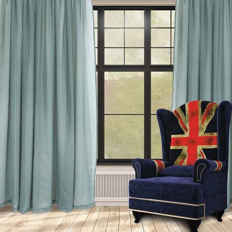 Κουρτίνα με Τρέσα (300x270) Das Home Curtain Line Code 2191 ΜΕΝΤΑ