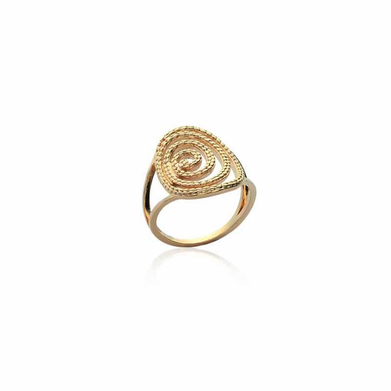 Δαχτυλίδι Brass Επίχρυσο 18Κ os219320