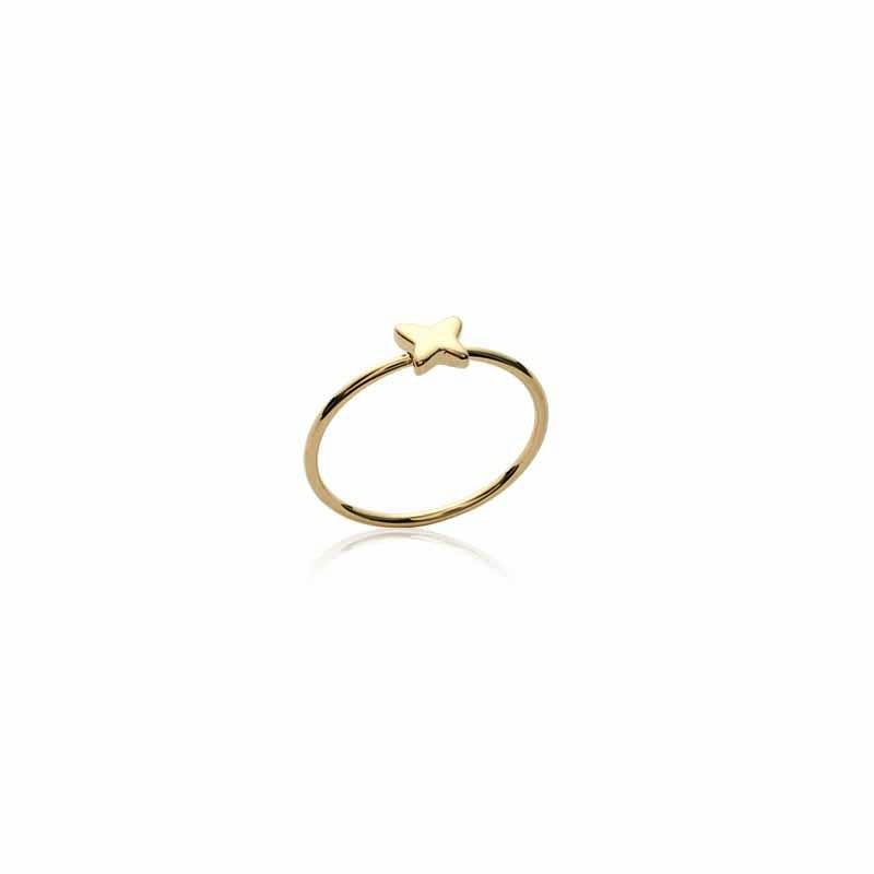 Δαχτυλίδι Brass Επίχρυσο 18Κ os220020