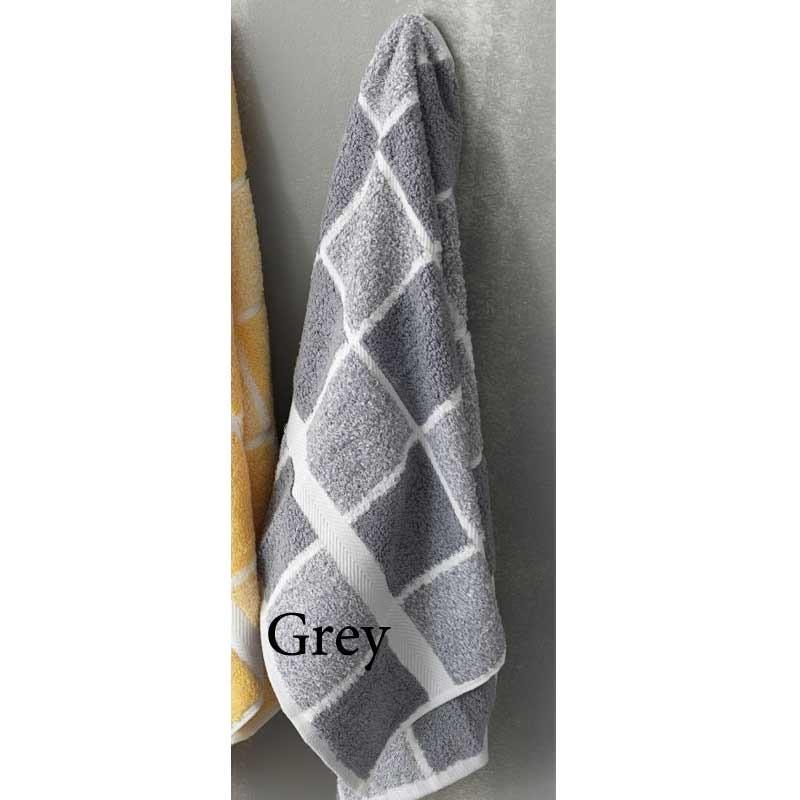 Σετ Πετσέτες 3 τμχ Palamaiki Premium Towels Collection 222 Grey