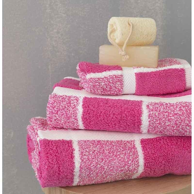 Σετ Πετσέτες 3 τμχ Palamaiki Premium Towels Collection 222 Fuchsia
