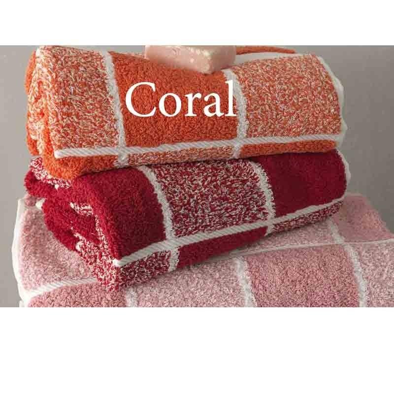 Σετ Πετσέτες 3 τμχ Palamaiki Premium Towels Collection 222 Coral