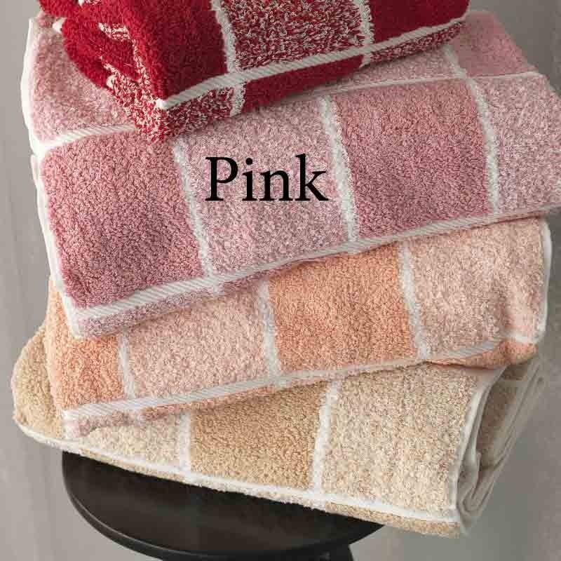 Σετ Πετσέτες 3 τμχ Palamaiki Premium Towels Collection 222 Pink