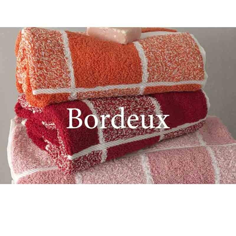 Σετ Πετσέτες 3 τμχ Palamaiki Premium Towels Collection 222 Bordeux