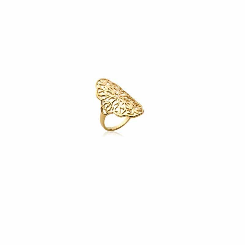Δαχτυλίδι Brass Επίχρυσο 18Κ Oxford Street 222190