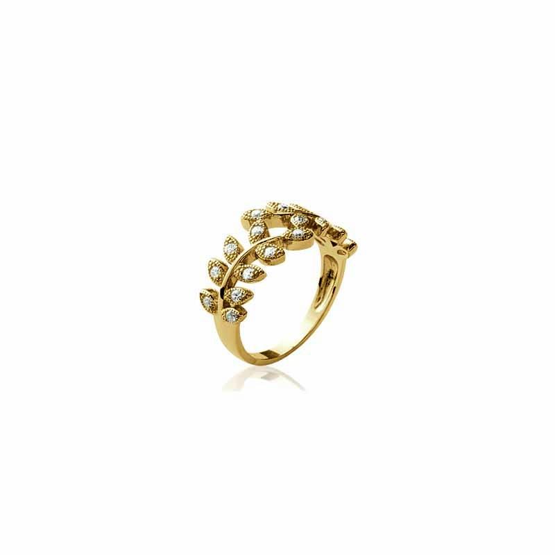 Δαχτυλίδι Brass Επίχρυσο 18Κ os222321