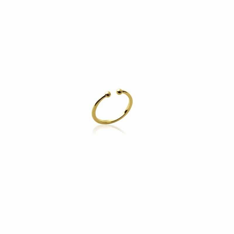 Δαχτυλίδι Brass Επίχρυσο 18Κ Oxford Street  222800