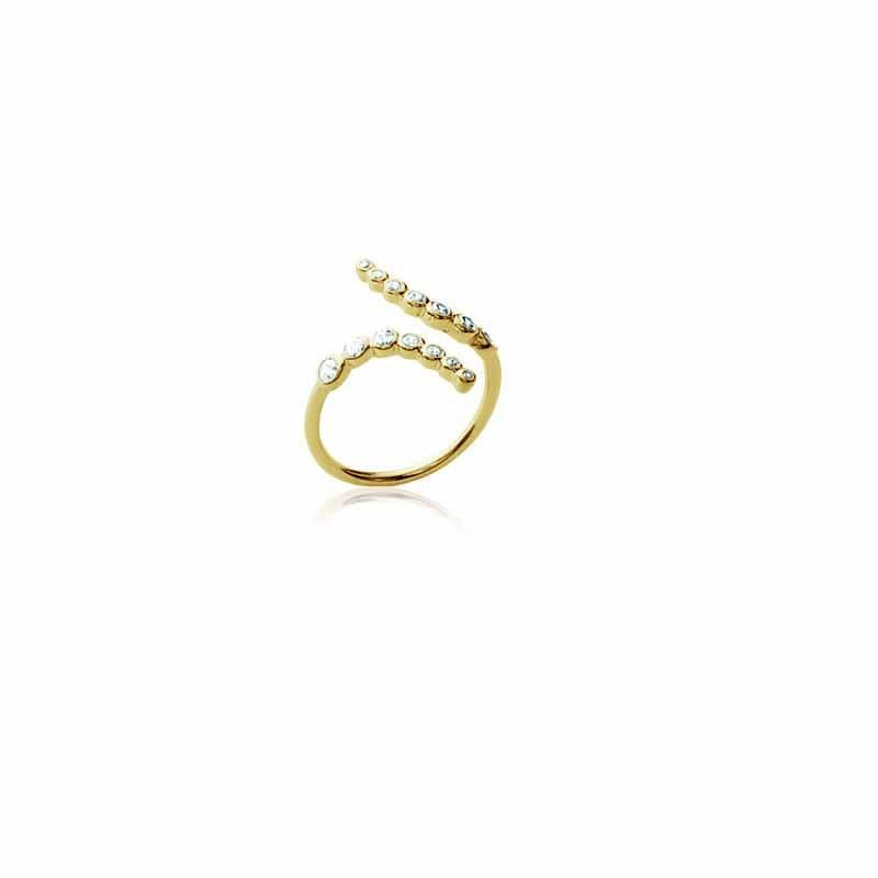 Δαχτυλίδι Brass Επίχρυσο 18Κ os224131