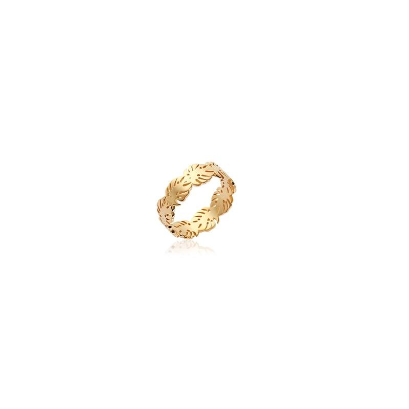 Δαχτυλίδι Brass Επίχρυσο 18Κ Oxford Street 227090